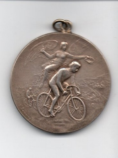 Medalha Rio Grande Do Sul Campeonato Ciclismo Rgs 1896 Prata