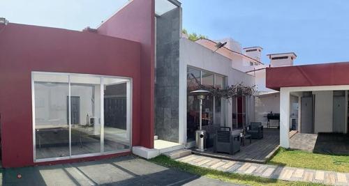 Hv597.8.-- Casa Construida En Un Solo Nivel. Club De Golf Hacienda.