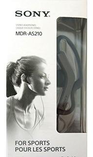 Sony Mdr-as210/b Auriculares Para Deporte - Ear-bud -