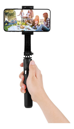 Imagen 1 de 9 de L08 Gimbal Estabilizador Selfie Stick Trípode Bt4.0 Inalám