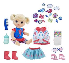 Boneca Baby Alive - Vestida Para Passear - Loira - Hasbro
