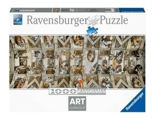 Rompecabezas Ravensburger 1000 Pzas Capilla Sixtina Panorami