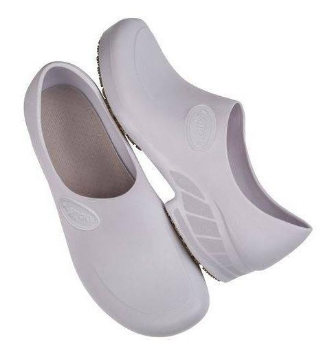 Sapato Antiderrapante Branco [hospitalar Enfermagem Cozinha]