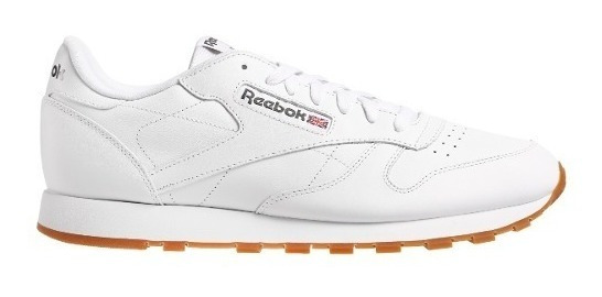 Zapatillas Reebok Classic Leather Blanca Hombre