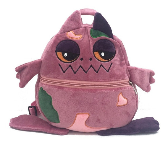 Exclusiva! Mochila Infantil Peluche Monstruos Boo - 6 Tipos
