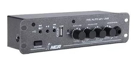 Mixer Nca Pre Amplificador Usb De Carro 12v #2752