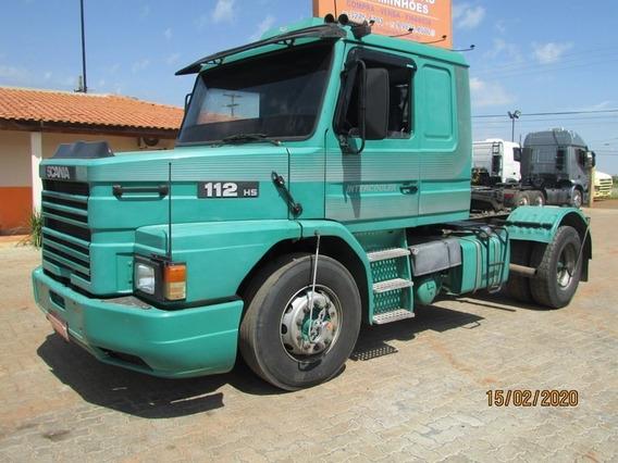 Scania T 112 Hs 4x2 Toco - Roda Disco Pneus 295.