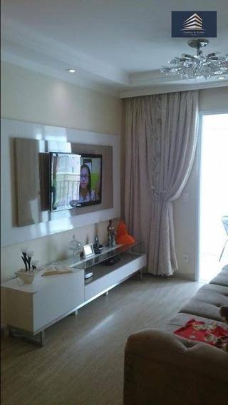 Apartamento Na Vila Augusta, Condomínio Suprema 64m², Aceita Permuta. - Ap0300