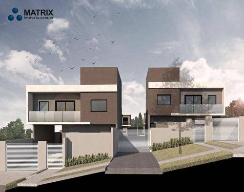 Imagem 1 de 4 de Sobrado Com 3 Dormitórios À Venda, 80 M² Por R$ 387.828,00 - Santa Cândida - Curitiba/pr - So2582