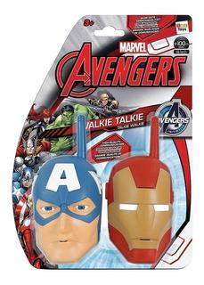Avengers Walkie Talkie Capitan America - Ironman