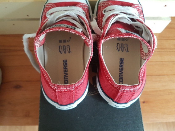 Zapatillas Converse N22 Color Rojo