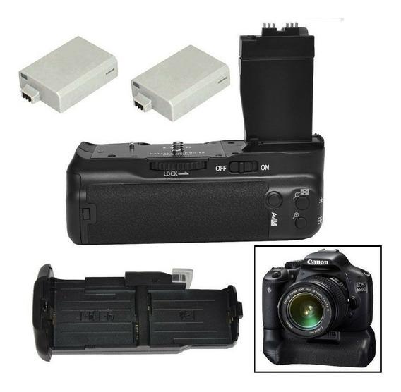 Grip Bateria Canon Eos 550d 700d T2i T3i T4i T5i +2 Baterias
