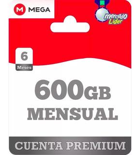 Cuenta Premium Mega 30 Dias 1 Mes 600gb