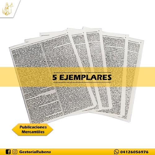 Imagen 1 de 1 de Publicaciones Mercantiles