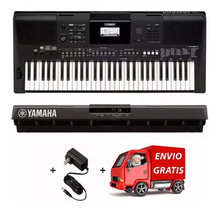 Teclado Organo Yamaha Psr E463 Sensitivo + Fuente + Envío Cu