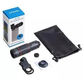 Lente Pro Hd X Universal Celulares Camera Zoom 18x 4k Apexel