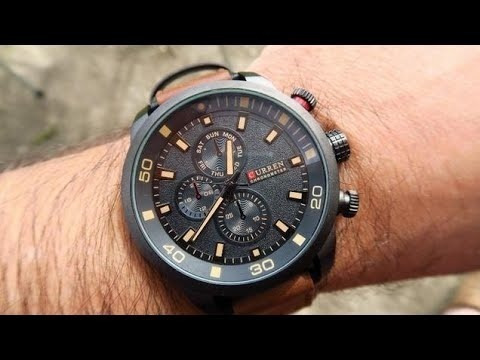 Relógio Curren 8250 Original Prova Dagua
