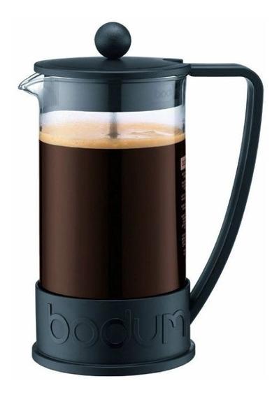 Bodum Cafetera Negro Negra Brazil 8 Pocillos Tazas Café