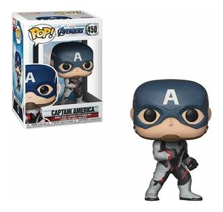 Funko Pop Marvel Avengers Endgame 450 Capitán América Stock