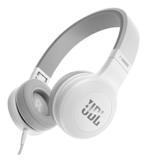 Fone De Ouvido Headphone Jbl E35 Branco Dobravel