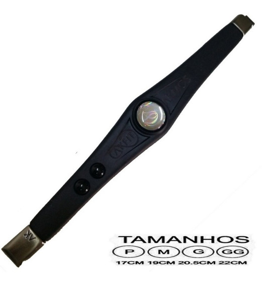 Pulseira Bracelete Akfit Akmos Original Ak Fit Elegance Pret