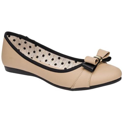 Zapato De Piso Dama Clasben Beige 62933 22-26 Envió Inmedia