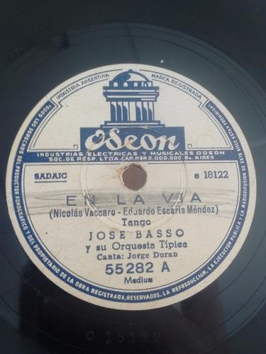 Jose Basso Jorge Duran Oscar Ferrari Disco Pasta Odeon C25