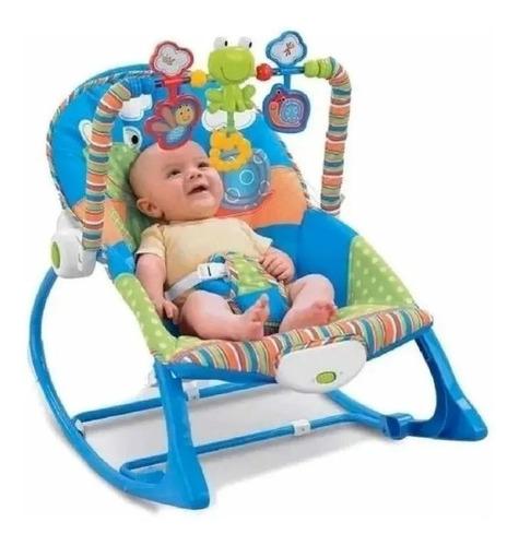 Silla Mecedora , Vibradora Y Musical Para Bebe 3 En 1