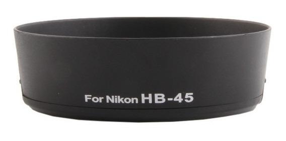 Parasol Hb-45 P/ Lente Nikon Af-s Dx 18-55mm F/3.5-5.6g Vr