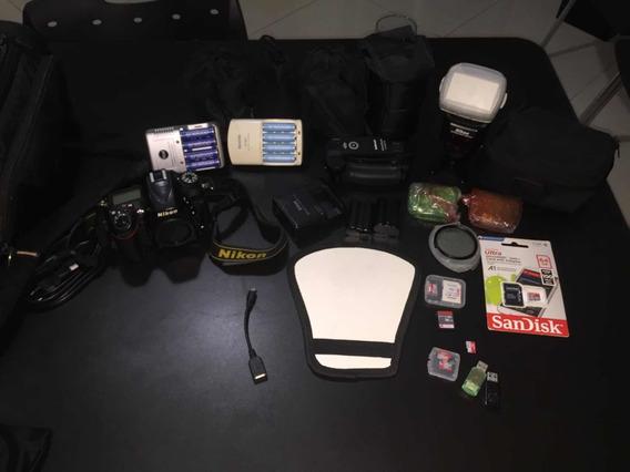 Nikon D7100 Equipamento Completo