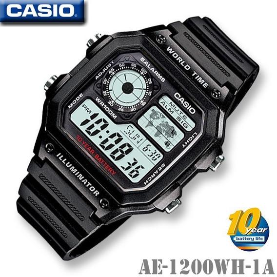 Relógio Casio Ae-1200wh Masculino Original A Pronta Entrega