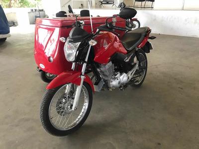 Moto Side Car Cg 150 2015/2015 Na Bahia Apenas 7 Mil Km