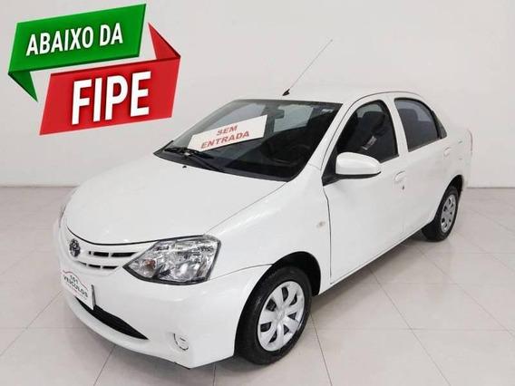 Etios Sedan X 1.5 (flex) 4p Mec 1.5 16v
