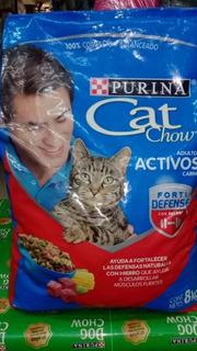Cat Chow Para Gatos Carne X8kg Entrega Ya!!