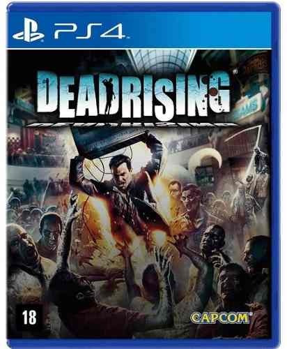 Dead Rising Remastered Br - Jogo Ps4