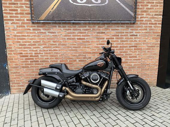 Harley Davidson Fat Bob 107 2018 Único Dono