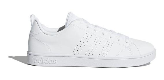 Tênis Masculino adidas Vs Advantage Branco Clean Original