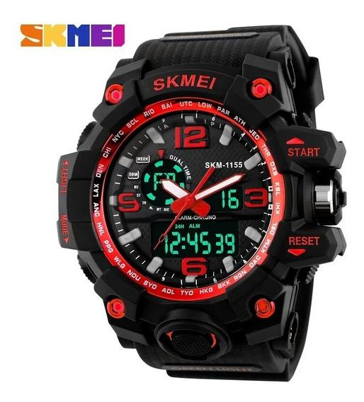 Relógio Masculino Skmei 1155 Original A Prova D