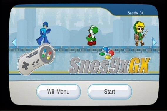 Emulador De Snes Pra Wii No Cartão Micro Sd De 1g