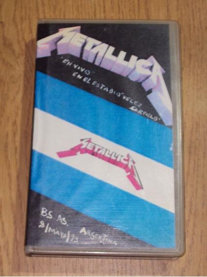 Metallica En Velez 1993 Vhs