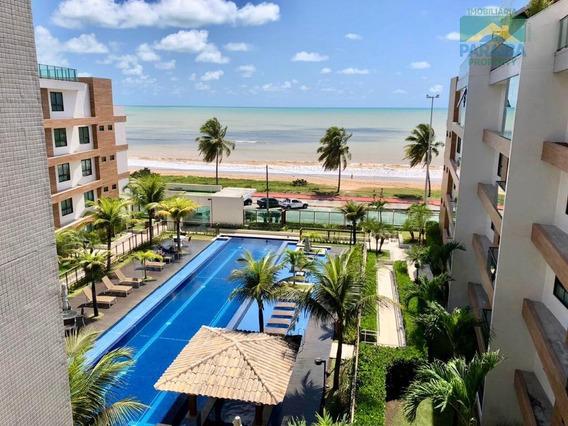 Apartamento Mobiliado Para Locação Beiramar - Praia Do Cabo Branco - João Pessoa - Pb - Ap0004