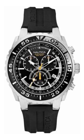 Relógio Nautica N14675g Masculino Caixa Em Aço Inox