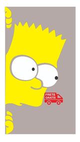 Adesivo Bart Simpsons Caminhão Moda Top Carro Vidro Homer