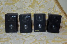 8 Caixas Acústica , 40 Watts Rms Cada, Csr - 75m