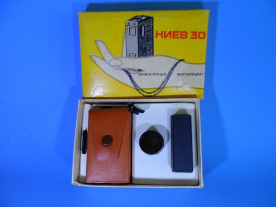Mini Câmera Foto Kiev-30 Urss 1980 Guerra Fria - Manual Pdf