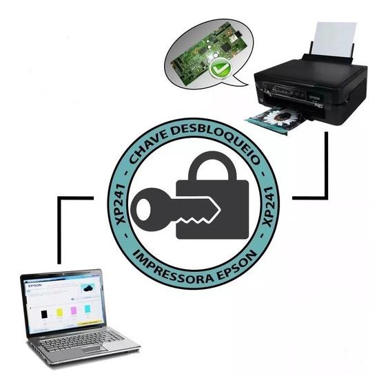 Chave Desbloqueio Impressora Ep Xp241 231 441 431 Envio 24hs
