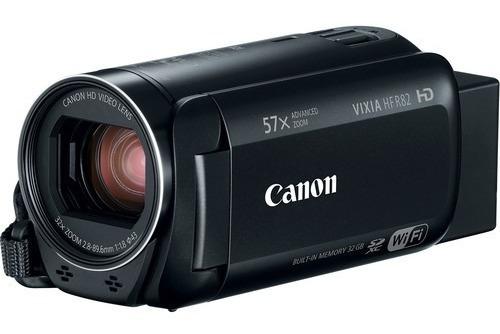 Filmadora Dig Canon Vixia Hf R82 - Wifi/ Full Hd/zoom57 N/f