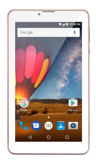 Tablet Multilaser Nb271 3g Rosa Dual Chip 1gb Ram Mostruário