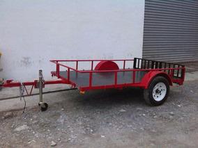 Remolque Multiusos Cuatrimotos Camion Camionetas Mty 185