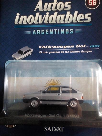 Autos Inolvidables Argentinos Volkswagen Gol Nº56 Salvat